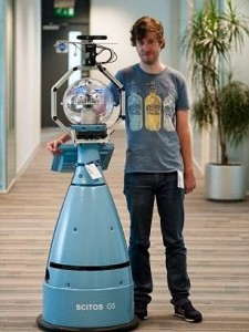 Bob-Robot vigilante de seguridad