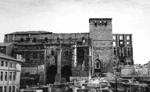Catedral_de_Santander_tras_el_incendio_de_1941