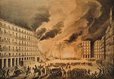 Incendio Plaza Mayor de Madrid