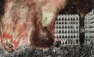 Incendio histórico - Plaza Mayor