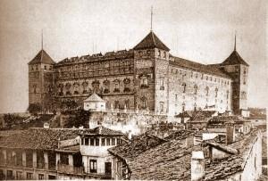 Alcazar Toledo en 1880