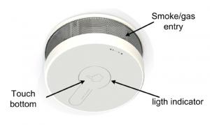 Detector que evita falsas alarmas