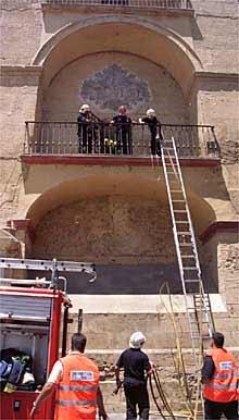 Incendio Mezquita de Córdoba