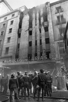Incendio Almacenes Arias