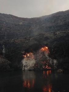 incendio de carbon india