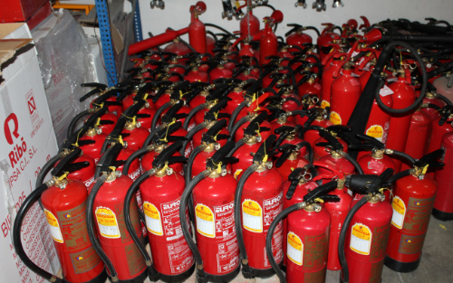 mantenimiento extintores